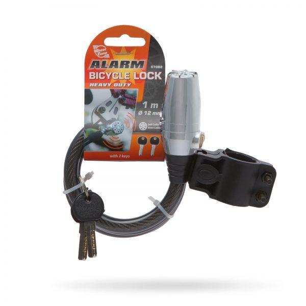 Ključavnica za kolo z alarmom