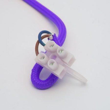Silikonska svetilka E27 vijolična