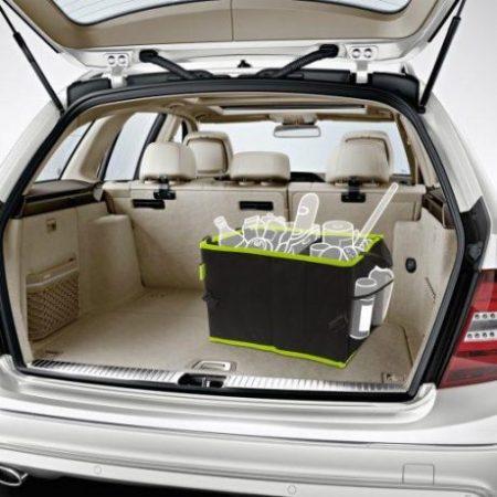 Shop & Drive organizator za avto 2 predala 36x30x25cm