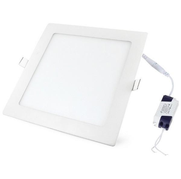 LED panel vgradni 18W nevtralno bel 4500K kvadratni