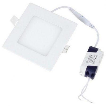 LED panel vgradni 6W nevtralno bel 4500K kvadratni