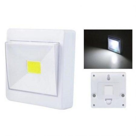 """Baterijska LED svetilka """"stikalo"""" z magneti"""