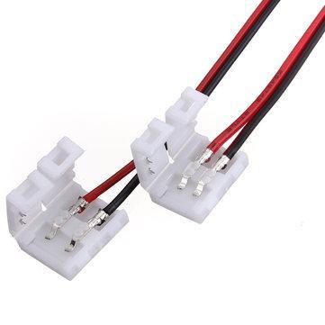 Konektor za LED trakove tipa 5050 (10mm) obojestranski s kablom 14 cm obojestranski