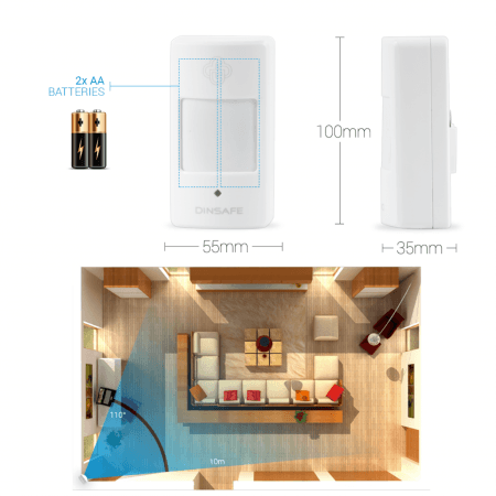 Dodatni brezžični senzor gibanja za MATIGARD AIR
