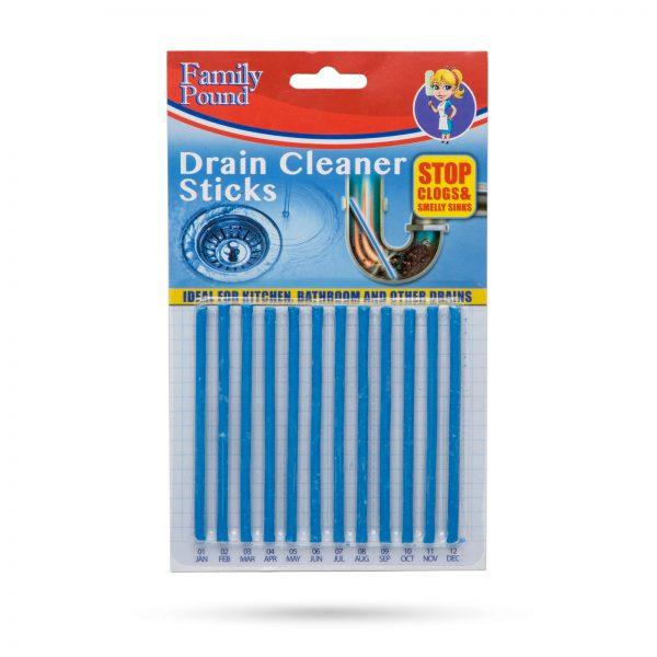 Palčke za čiščenje odtokov 12 kos