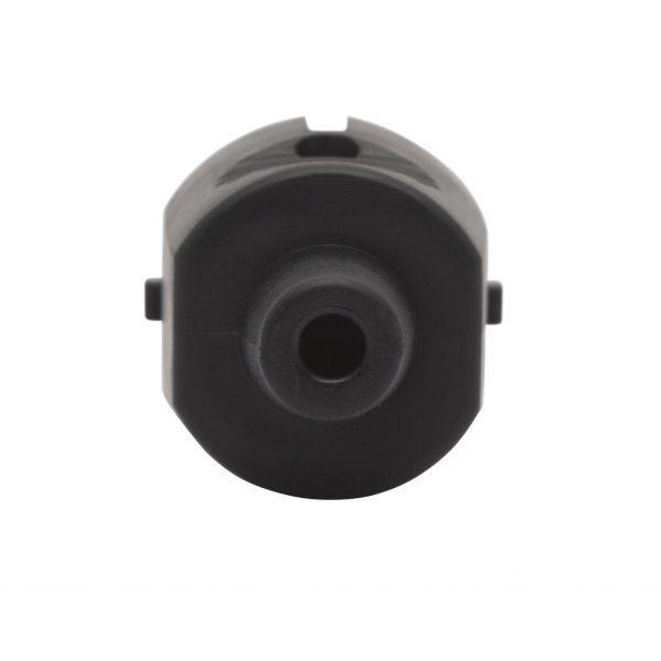 Vtikač šuko črn 250V 16A