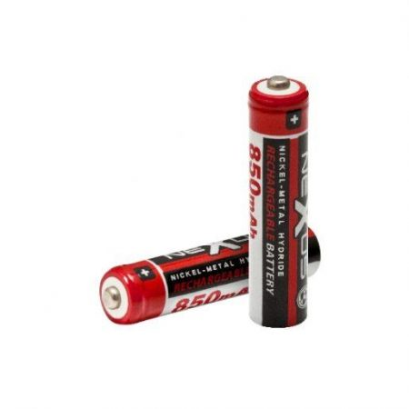 Baterije za ponovno polnjenje AAA HR03 Ni-MH 850 mAh 2 kosa