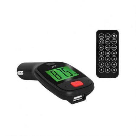 FM oddajnik za avto MP3 USB AUX z daljincem 12/24V