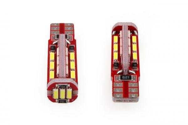 Avto LED žarnica - sijalka CANBUS T10 W5W 27 SMD 4014 12V