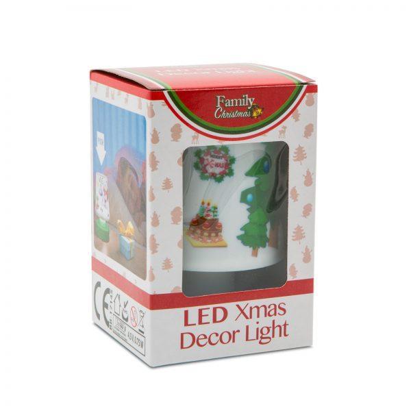 Božična otroška LED svetilka modra