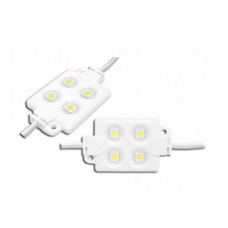LED modul 5050 4 LED IP65 6500K