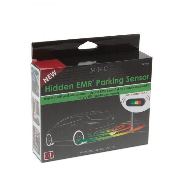 Nevidni parkirni senzorji EMR brez vrtanja z LED zaslonom in alarmom