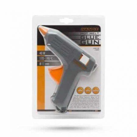 Set pištola za vroče lepljenje 40W 11mm siva + 60 vložkov