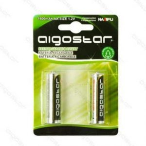 Polnilna baterija NiH2 AA 1600 mAh 2 kos