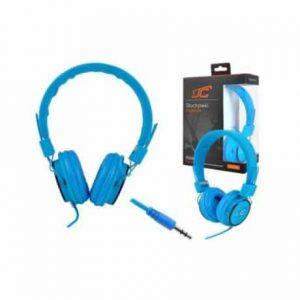 Slušalke naglavne 3,5mm modre 1,2m