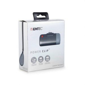 Zunanja baterija (POWER BANK) EMTEC power clip 2600mAh