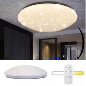 LED plafonijera z daljincem zvezdnato nebo 42W CCT 2700K - 6000K