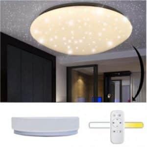 LED plafonijera z daljincem zvezdnato nebo 42W 2760lm CCT 2700K - 6000K