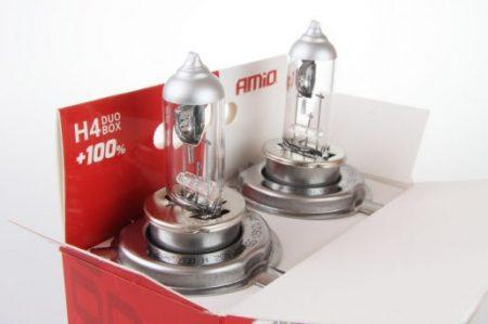 Halogenska avto žarnica LumiTec SILVER +100% H4 12V 60/55W 2 kosa