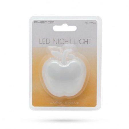 Nočna LED lučka v obliki jabolka toplo bela