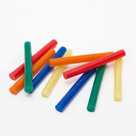Vložki za vroče lepljenje 11mm 10 kos barvni