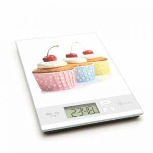 Kuhinjska tehtnica steklena muffin