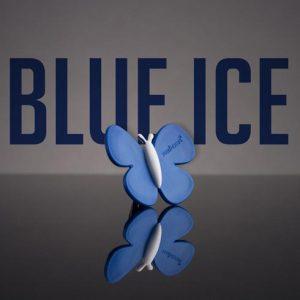 Premium avto osvežilec v obliki metulja blue ice