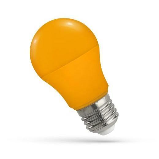 LED žarnica - sijalka E27 5W oranžna