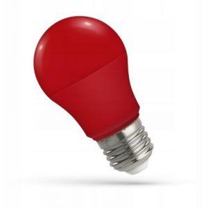 LED žarnica - sijalka E27 5W rdeča