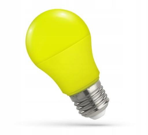 LED žarnica - sijalka E27 5W rumena