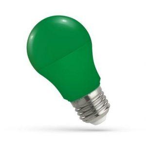 LED žarnica - sijalka E27 5W zelena