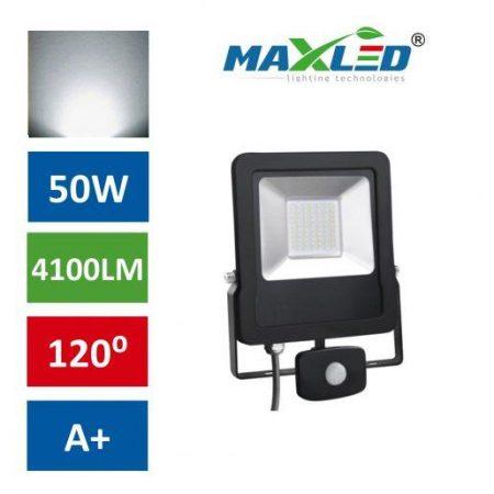 LED reflektor STAR PREMIUM 50W nevtralno beli 4500K s senzorjem