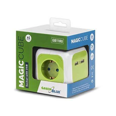 Podaljšek MagicCube z 2 USB vtičnicama 1,4m