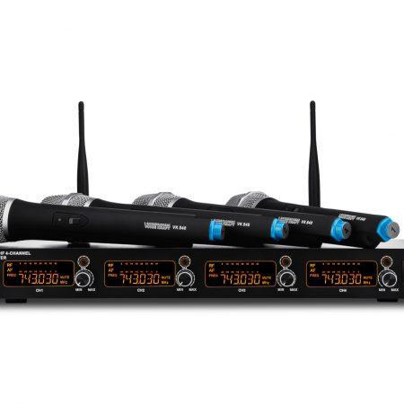 Komplet 4 brezžičnih mikrofonov VK 840