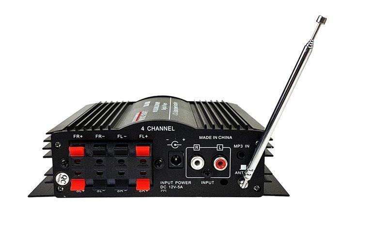 Avto ojačevalec FM USB SD 4x40W 12V 200-MA