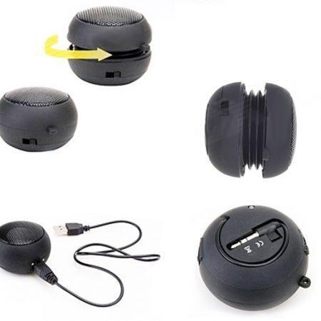Prenosni zvočnik Hamburger MegaBass z baterijo 3,5mm