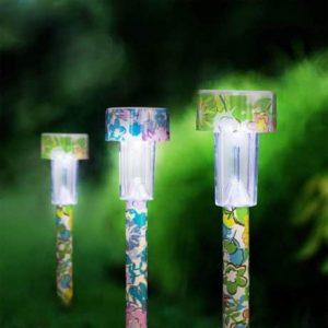 Solarna LED svetilka rožice
