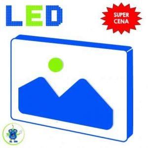 ALU LED reklamna tabla enostranska 200x50cm s tiskom in elektroniko