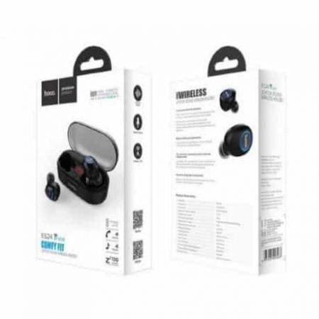 Brezžične bluetooth slušalke earpods TWS z mikrofonom in polnilno postajo 800mAh hoco premium