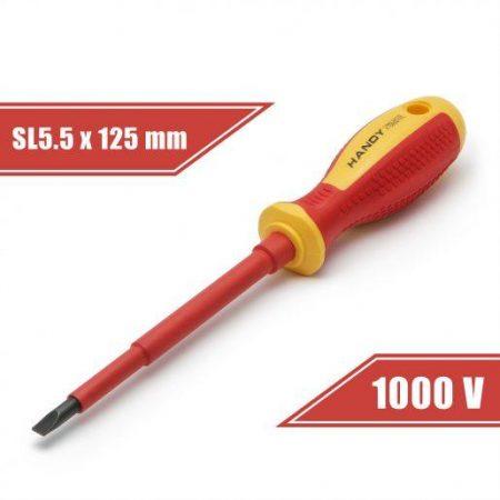 Izvijač izolirani 1000V SL5.5 x 125mm