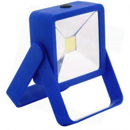Mini COB LED delovna svetilka z magnetom modra