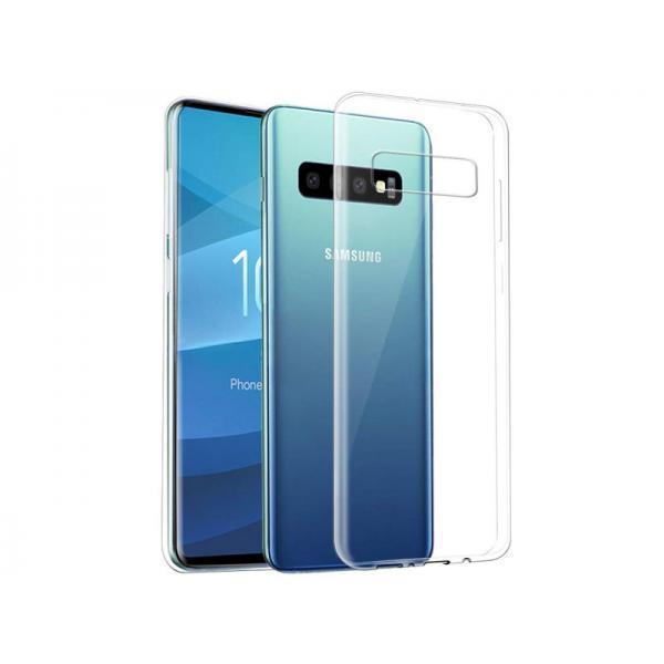 Silikonski ovitek PREMIUM za Samsung Galaxy S10 Plus prozoren