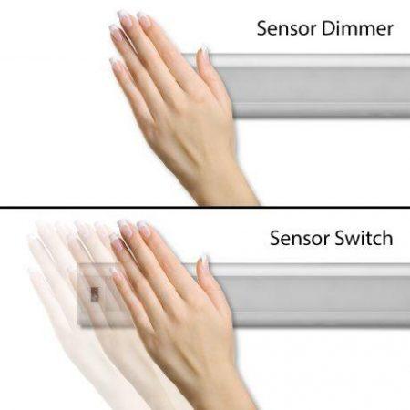 Podelementna LED svetilka s senzorjem kratkega dosega 5W 4000K 30cm