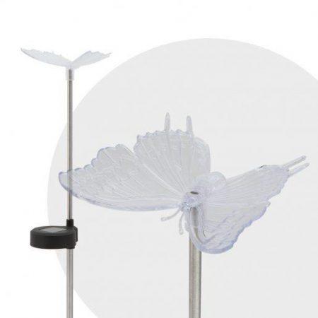 RGB LED solarna svetilka