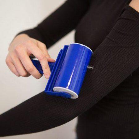 Samolepljivi valjček za čiščenje oblačil za večkratno uporabo Lint Roller