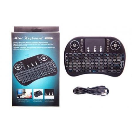 Brežična LED tipkovnica za smart TV / iPad / APPLE TV / Android TV z polnilno baterijo