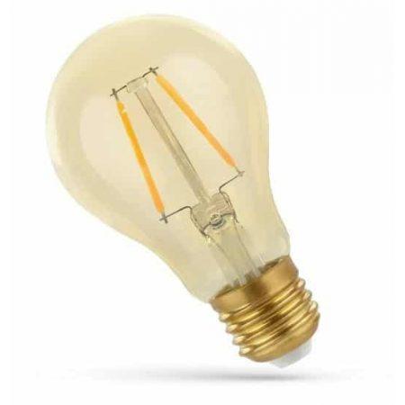 LED žarnica - sijalka E27 2W 270lm COG  RETROSHINE toplo bela 3000K