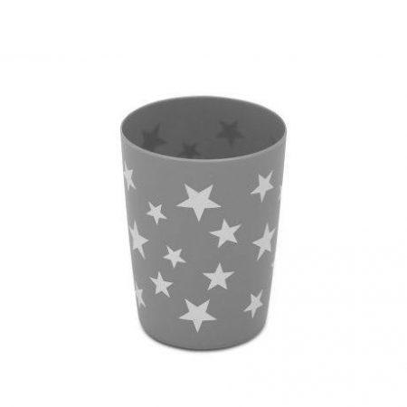 Lonček za zobne ščetke z zvezdicami 9,5 x ø7 cm