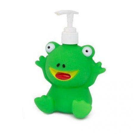 PVC dozirnik za milo v obliki žabe 350 ml