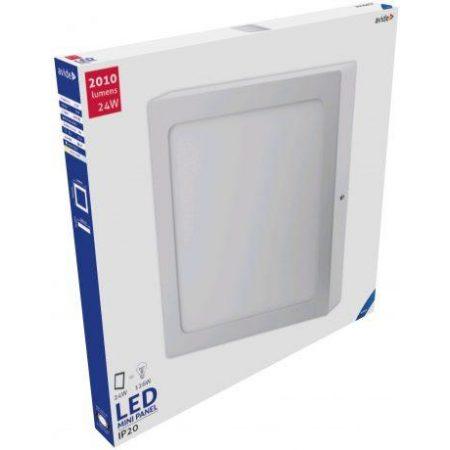 ALU LED nadgradni panel kvadratni 24W hladno bela 6400K